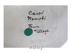 Carol Namoki, Hopi, Circa 1960, Bowl, 11 x 4 1/2
