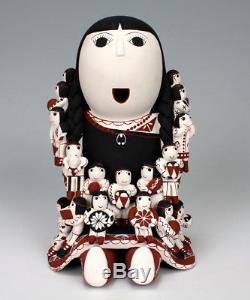 Cochiti Pueblo Native American Indian Pottery Storyteller Vangie Suina