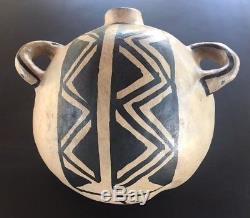 Cochiti Pueblo Pottery Canteen