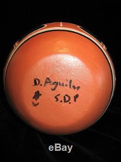 DARRIN AQUILAR Native American Indian Santo Domingo Pueblo Pottery