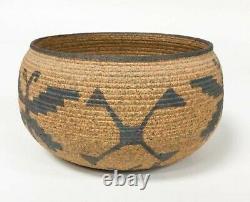 David Salk Pottery 1997/98 Native American Basket Weave Series 3 1/2 x 5 3/4