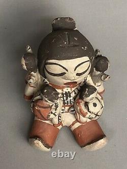 Dorothy Trujillo Cochiti Pueblo Storyteller Native American 4 Children Figurine