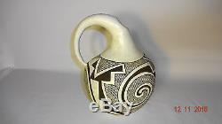 EXCELLENT OLD NATIVE ACOMA PUEBLO INDIAN POTTERY