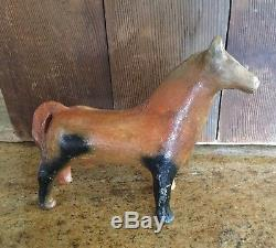 Early Jicarilla Apache Pottery Horse Effigy