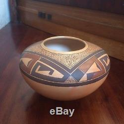 Elegant Steve Lucas Native American Hopi Pot Free Shipping