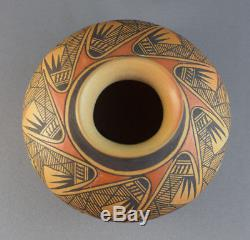 Elton Nampeyo (b. 1953) Hopi Sikyatki Revival Migration Pattern Pottery Bowl