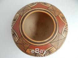 Elva Nampeyo Hopi Indian Pottery Bowl Traditional Style 1974-6 3/4'' By 3 3/4'