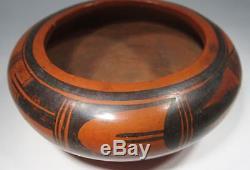 Estate Vintage Hopi Native American Pottery Bowl NPL-9