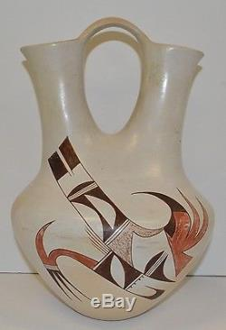Extra Large Joy Navasie (FrogWoman) Native American Hopi Wedding Vase