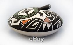 Fine Line Turtle Seedpot Acoma Pueblo