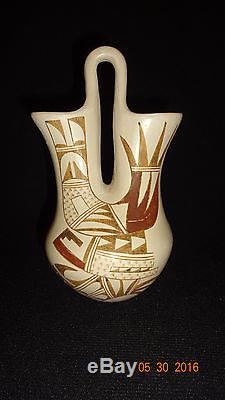 Great Old Hopi Indian Pottery Joy Navasie Frog Woman