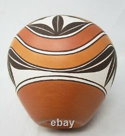 Gladys Paquin Sratyu'we Pot Pottery Laguna Pueblo 7.25x8 Native American 1995
