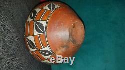 Gorgeous Antique Acoma Pueblo Pottery Native American Indian