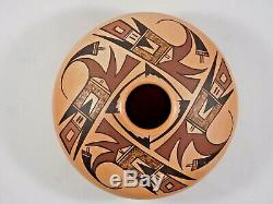 Gorgeous Hopi Indian Pottery Jar By Award Winning Artist White Swann