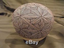 Grace Chino Acoma Native American Pottery Seed Jar