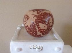 Gwen Tafoya Santa Clara Pueblo Hand Coiled Pottery