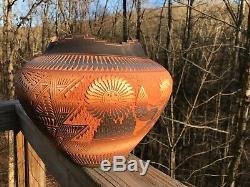 HUGE 11''x14'' Acoma Pottery Diane Aragon Pot Olla Laguna Pueblo Native American