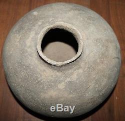 HUGE & RARE 12x10 EARLY Pre-Historic Anasazi Tularosa Water Jug SOLID