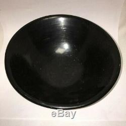 Handmade Heavy Southwestern Native American Handmade Black Bowl