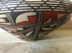 Handmade Native American Pottery Vase By Venora Silas Hopi Pueblo Pot