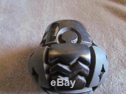 Harrison Begay Santa Clara Black Carved Navajo Pottery