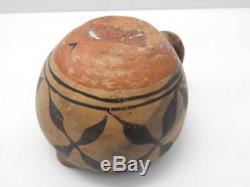 Historic Era Antique Santo Domingo Pottery Pitcher / Cup Pot Classic+old