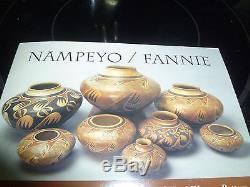 Historic Native American Pottery Hopi Tewa Seed Pot. Fannie Nampeyo