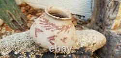 Hohokam Red On Buff Santa Cruz Pottery Jar Bird Tracks No Resto Arizona Anasazi