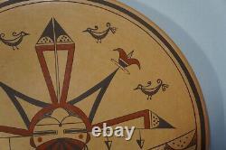 Hopi 9 Plate by Val Kahe Native American Pottery