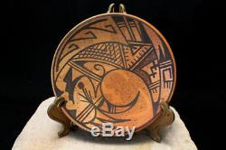 Hopi Native American Indian Pottery Plate Karen Namoki