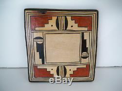 Hopi Native American Indian Pottery Turtle Tile Rachel Sahmie