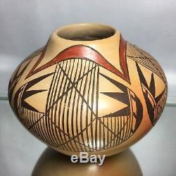 Hopi Native American Southwestern Pottery Jar Migration Neva Nampeyo