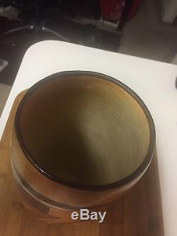 Hopi Native American Tulip Vase Beauty 1920s Cylinder Pottery