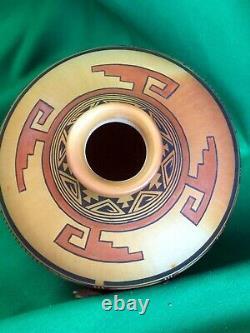 Hopi Polychrome Jar by Gloria Mahle A Masterpiece