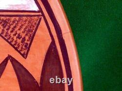 Hopi Polychrome Plate by Betty Navakuku Fantastic