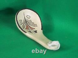 Hopi Polychrome Pottery Ladle Vintage & Beautiful