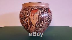 Hopi Pottery, Antoinette Honie Sikyatki Vase