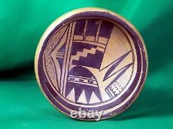 Hopi Sikyatki Style Shallow Bowl Vintage ca 1900 Sensational