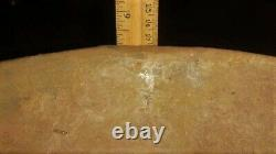 Huge Hardy Engraved Caddo Bowl Ancient Native American Indian Pottery