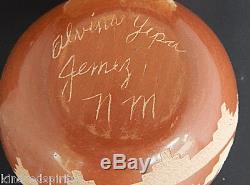 JEMEZ Indian pottery ALVINA YEPA $450