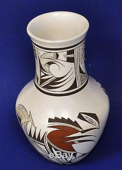 JOY NAVASIE Frog woman Vintage large vase MAGNIFICENT