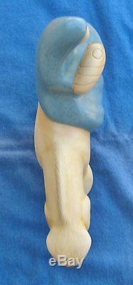 Jack Black Pottery Navajo Mother Baby on Horseback Madonna & Jesus Southwestern