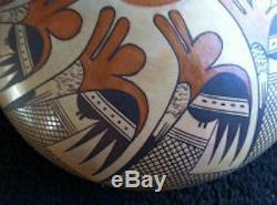 Jean Sahmie Nampeyo Hopi Pottery Sak Honsee (tobacco Flower)