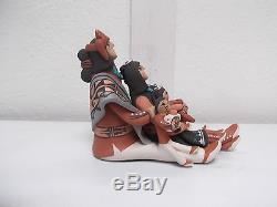 Jemez Pottery Native American Indian Pueblo Storyteller by Carol Lucero Gachupin