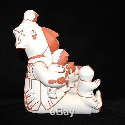 Jemez Pueblo Handmade Pottery Storyteller by Alma Maestas