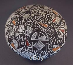 Joe Joseph Cerno Acoma Pueblo Native American Indian Seed Pot