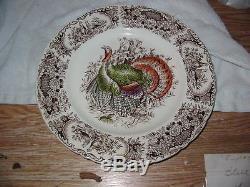 Johnson Brothers Wild Turkey Native American, Dinner Plate