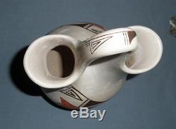 Joy Navasie 10 Hopi Wedding Vase, Native American Frog Woman Frogwoman 2