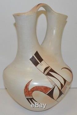 Joy Navasie (FrogWoman) Native American Hopi Wedding Vase