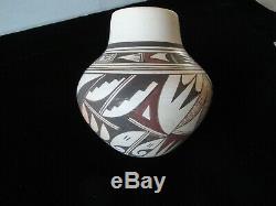 Joy Navisie Hopi Indian Pottery Jar By 2nd Frog Woman